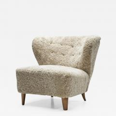 G sta Jonsson G sta Jonsson Lounge Chair from J nk ping Sweden 1940s - 2072213