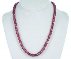 GENUINE NATURAL LARGE PINK TOURMALINE FACETED BEADS - 1895146