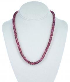 GENUINE NATURAL LARGE PINK TOURMALINE FACETED BEADS - 1895147
