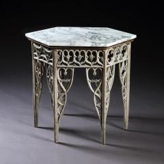 GOTHIC HEXAGON CENTER TABLE ENGLISH CIRCA 1780 - 2029126
