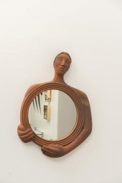Gabriel Sebastien Simonet Sebastien Terracotta Mirror - 444089