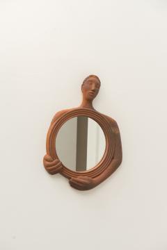 Gabriel Sebastien Simonet Sebastien Terracotta Mirror - 444092