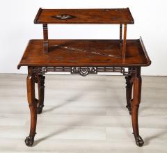 Gabriel Viardot Mother of Pearl Inlaid Table - 1964631