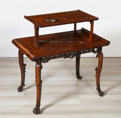 Gabriel Viardot Mother of Pearl Inlaid Table - 1964632