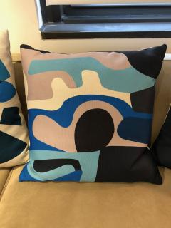 Gabriela Valenzuela Hirsch Silk screened pillows by Gabriela Valenzuela Hirsch  - 1137443