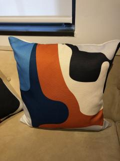 Gabriela Valenzuela Hirsch Silk screened pillows by Gabriela Valenzuela Hirsch  - 1137444