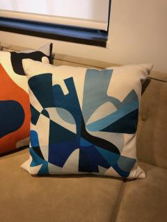Gabriela Valenzuela Hirsch Silk screened pillows by Gabriela Valenzuela Hirsch  - 1137445