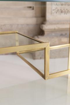 Gabriella Crespi Brass and Glass Bar Cart - 1451129