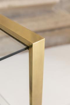 Gabriella Crespi Brass and Glass Bar Cart - 1451135