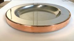 Gabriella Crespi Gabriella Crespi Steel and Copper Charger - 1194405
