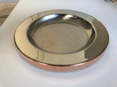 Gabriella Crespi Gabriella Crespi Steel and Copper Charger - 1194406