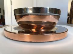 Gabriella Crespi Gabriella Crespi Steel and Copper Charger - 1194410