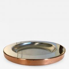 Gabriella Crespi Gabriella Crespi Steel and Copper Charger - 1195175