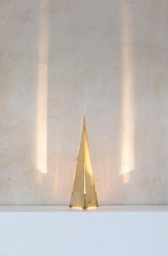 Gabriella Crespi Obelisco Table Lamp by Gabriella Crespi Signed - 1594020