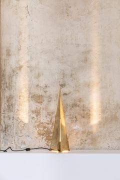 Gabriella Crespi Obelisco Table Lamp by Gabriella Crespi Signed - 1594021