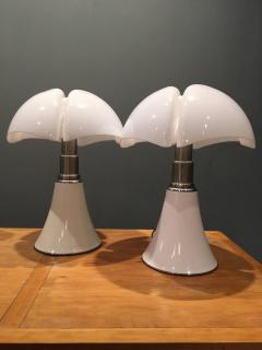 Gae Aulenti Colosal Pair of Gae Aulenti Pipipstrello Lamps 1965 - 1638446