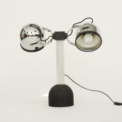 Gae Aulenti Pair of Gae Aulenti Livio Castiglioni Trepi Table Lamps for Stilnovo 1972 - 1290644