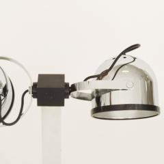 Gae Aulenti Pair of Gae Aulenti Livio Castiglioni Trepi Table Lamps for Stilnovo 1972 - 1290646