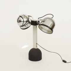 Gae Aulenti Pair of Gae Aulenti Livio Castiglioni Trepi Table Lamps for Stilnovo 1972 - 1290649