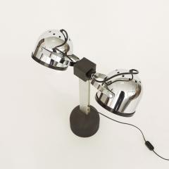 Gae Aulenti Pair of Gae Aulenti Livio Castiglioni Trepi Table Lamps for Stilnovo 1972 - 1290650