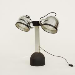 Gae Aulenti Pair of Gae Aulenti Livio Castiglioni Trepi Table Lamps for Stilnovo 1972 - 1290651