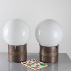 Gae Aulenti Pair of Mezzo Oracolo Table Lamps by Gae Aulenti for Artemide - 806580