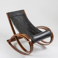Gae Aulenti Sgarsul Rocking Chair by Gae Aulenti for Poltronova - 801712