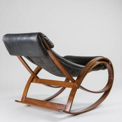 Gae Aulenti Sgarsul Rocking Chair by Gae Aulenti for Poltronova - 801713