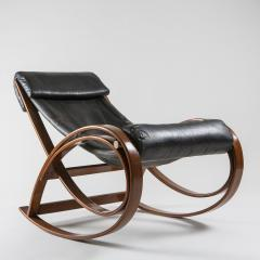 Gae Aulenti Sgarsul Rocking Chair by Gae Aulenti for Poltronova - 801714