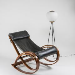 Gae Aulenti Sgarsul Rocking Chair by Gae Aulenti for Poltronova - 801719