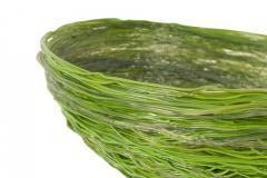 Gaetano Pesce Gaetano Pesce Green Resin Spaghetti Bowl for Fish Design 2009 - 845413