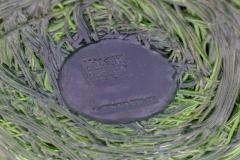 Gaetano Pesce Gaetano Pesce Green Resin Spaghetti Bowl for Fish Design 2009 - 845420
