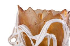 Gaetano Pesce Gaetano Pesce Orange White Resin Vase 1996 - 844415