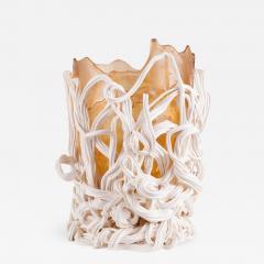 Gaetano Pesce Gaetano Pesce Orange White Resin Vase 1996 - 846466