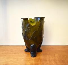 Gaetano Pesce Green Resin Amazonia Vase by Gaetano Pesce for FISH Design NYC 1990s - 922985