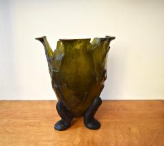 Gaetano Pesce Green Resin Amazonia Vase by Gaetano Pesce for FISH Design NYC 1990s - 922989