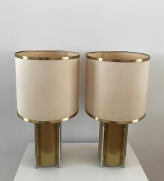 Gaetano Sciolari 1970s Pair of Table Lamps by Sciolari Roma - 376502