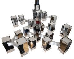 Gaetano Sciolari Cubist Pendant Light By Gaetano Sciolari Circa 1975 - 566784
