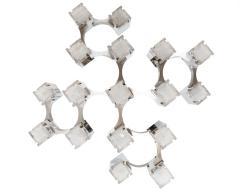 Gaetano Sciolari Cubist Pendant Light By Gaetano Sciolari Circa 1975 - 566786