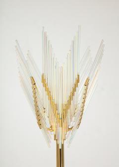 Gaetano Sciolari Gaetano Sciolari Iridescent and Gold Plated Standing Lamp - 2133193