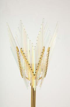 Gaetano Sciolari Gaetano Sciolari Iridescent and Gold Plated Standing Lamp - 2133196