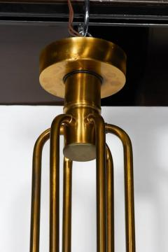Gaetano Sciolari Mid Century Modern brass 12 lights Chandelier by Gaetano Sciolari 1960s - 763987