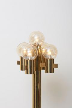 Gaetano Sciolari Midcentury Floor Lamp in Brass by Sciolari - 1033927