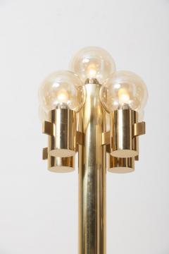 Gaetano Sciolari Midcentury Floor Lamp in Brass by Sciolari - 1033930