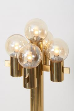 Gaetano Sciolari Midcentury Floor Lamp in Brass by Sciolari - 1033931