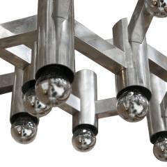 Gaetano Sciolari Pair of Pendant Lamps Designed by Gaetano Sciolari - 507805