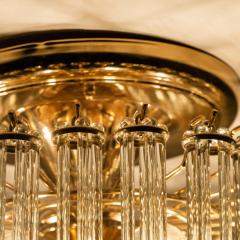 Gaetano Sciolari Set of 3 Glass Rod Waterfall Light Fixtures Sciolari for Lightolier 1970 - 1336564
