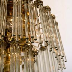 Gaetano Sciolari Set of 3 Glass Rod Waterfall Light Fixtures Sciolari for Lightolier 1970 - 1336572