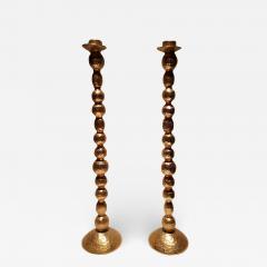 Galerneau Paris Gilt Bronze Candleholders - 1257182