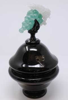 Gambaro Poggi Murano Grape Urn with Lid - 660745